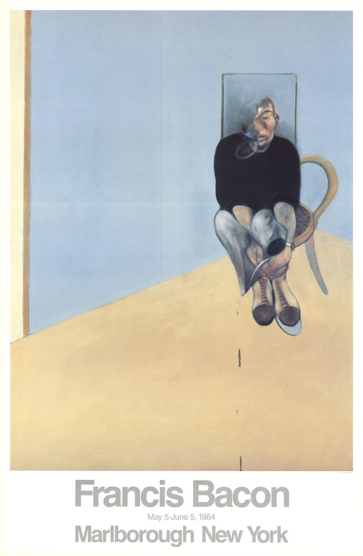Francis Bacon - Seated Man - 1984