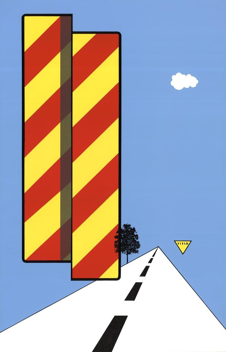 Allan D'Arcangelo - Yield - 1968