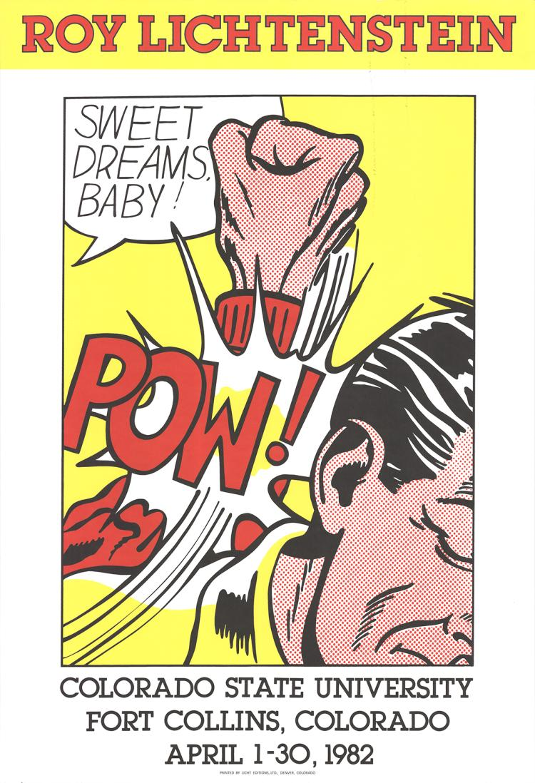 Roy Lichtenstein - Sweet Dreams Baby - 1982