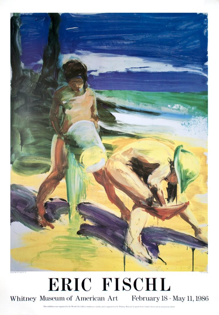Eric Fischl - Untitled - 1986