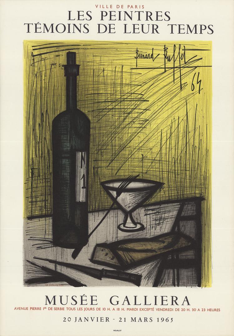 Bernard Buffet - Musee Galliera - 1965