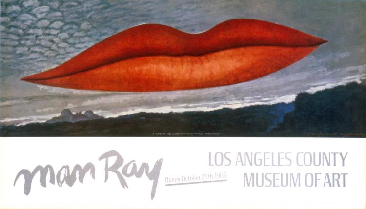Man Ray - Lips - 1966