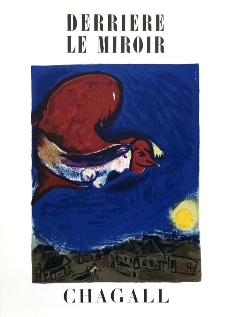 Marc Chagall - Derriere Le Miroir no. 27-28 Cover
