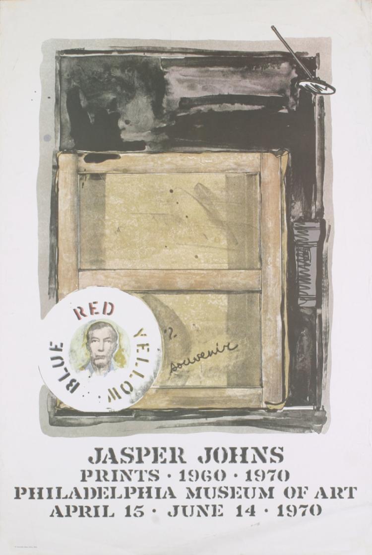 Jasper Johns - Souvenir - 1970