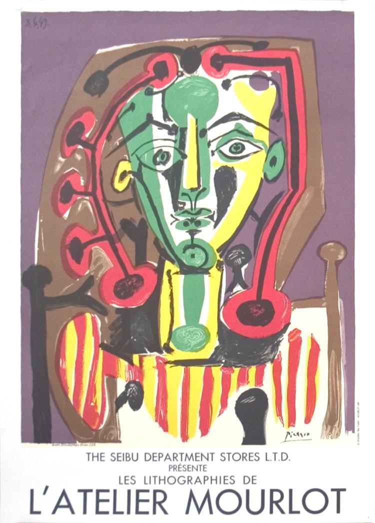 Pablo Picasso - Le Corsaire, Seibu - 1984