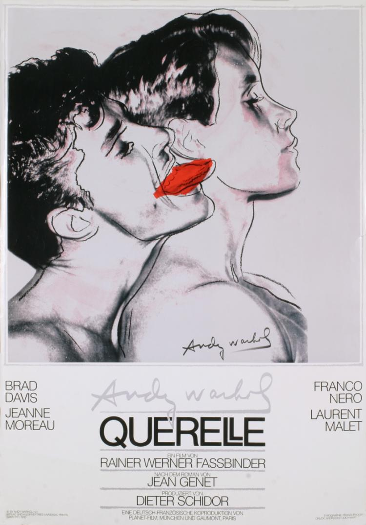 Andy Warhol - Querelle - 1983
