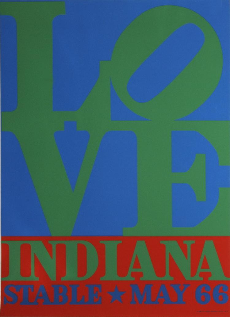 Robert Indiana - LOVE-Stable - 1971