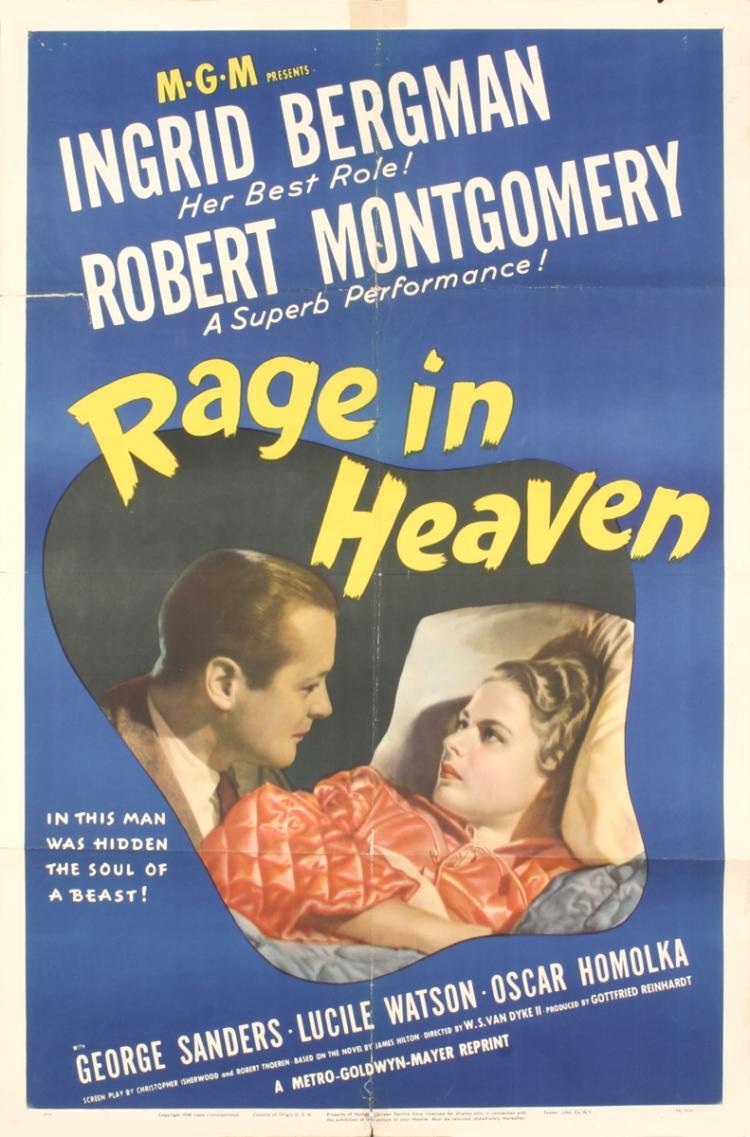 Rage in Heaven - 1941