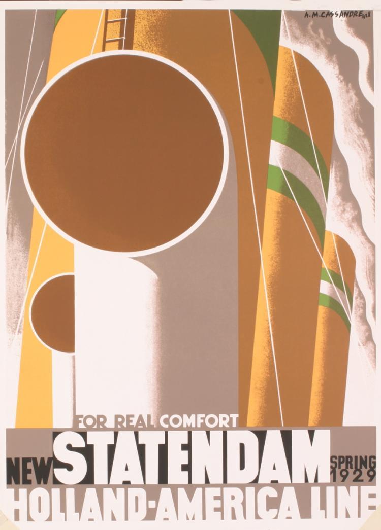 A.M. Cassandre - Statendam - 1995