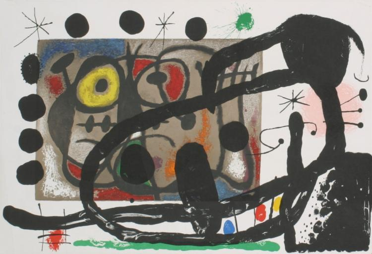 Joan Miro - Derriere le Miroir, no. 151-152