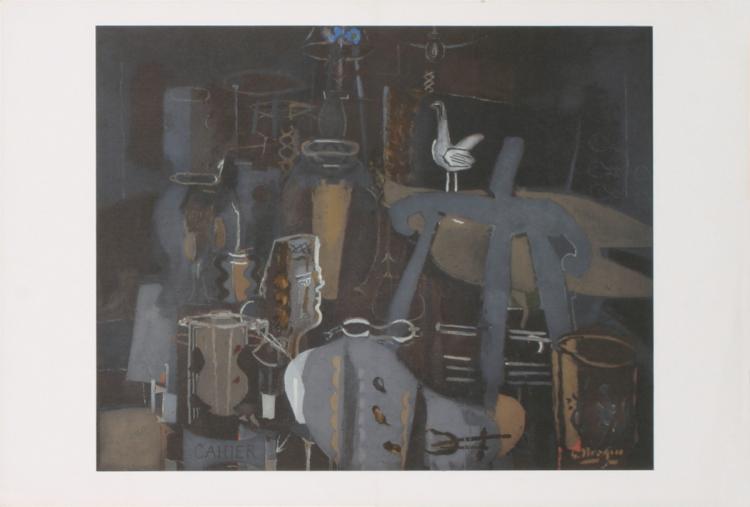 Georges Braque - Atelier VI - 1964
