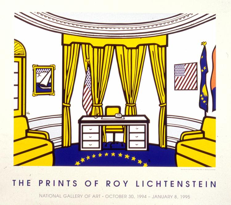 Roy Lichtenstein - The Oval Office