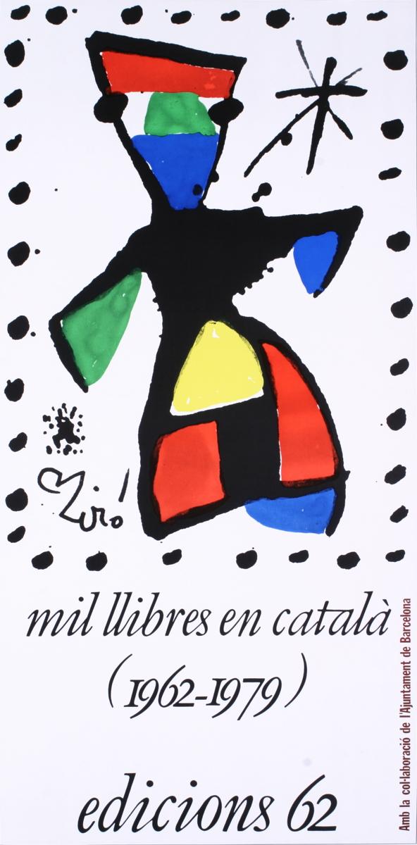 Joan Miro - Mil Llibres En Catala - 1979