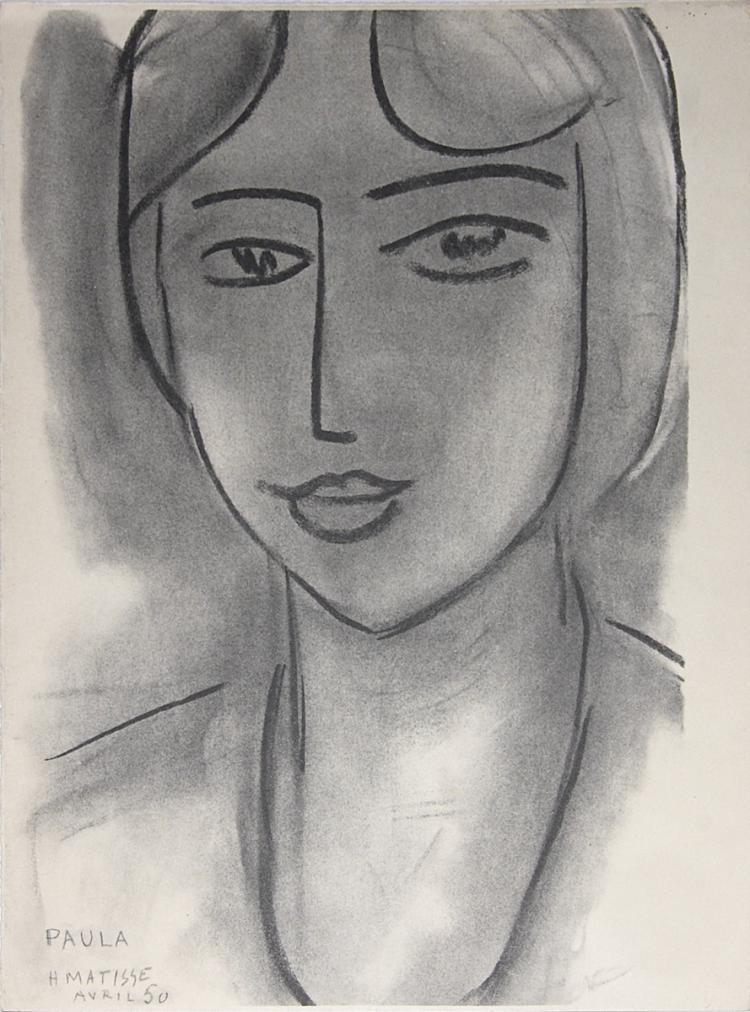Henri Matisse - Paula - 1952