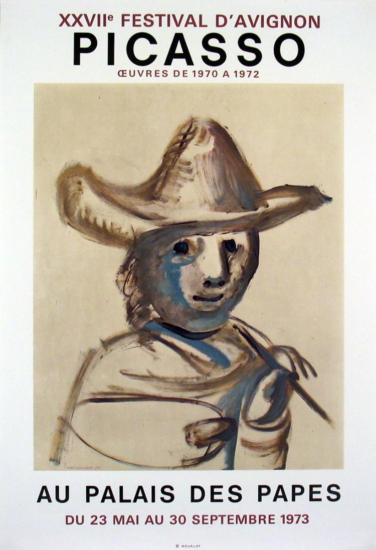 Pablo Picasso - XXVII Festival D'Avignon - 1973