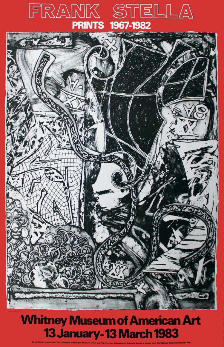 Frank Stella - Prints 1967-1982 - 1982