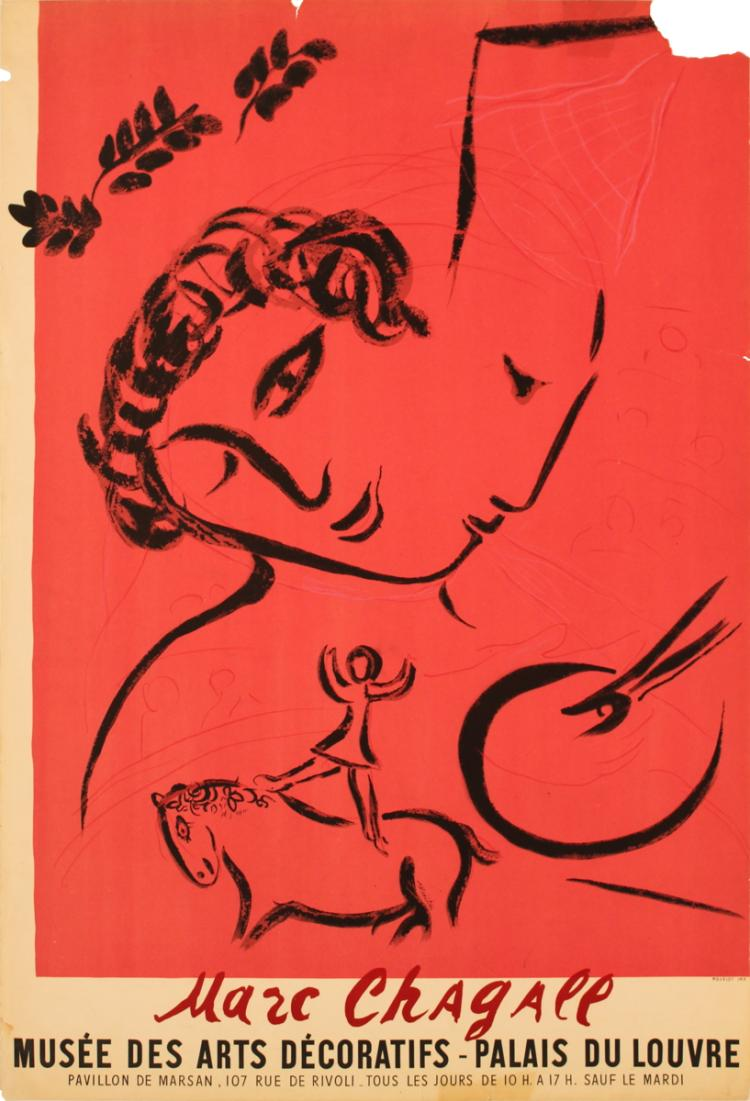 Marc Chagall - The Painter in Rose