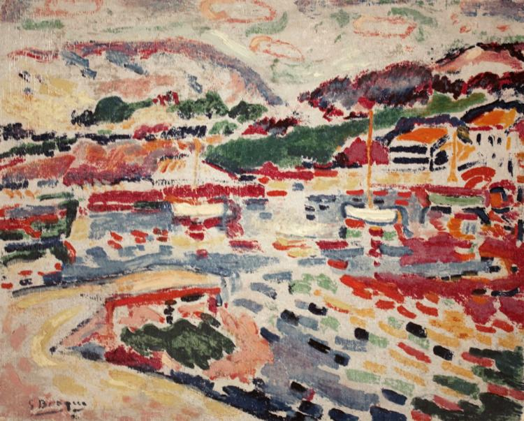 Georges Braque - The Landing-stage at L'estaque