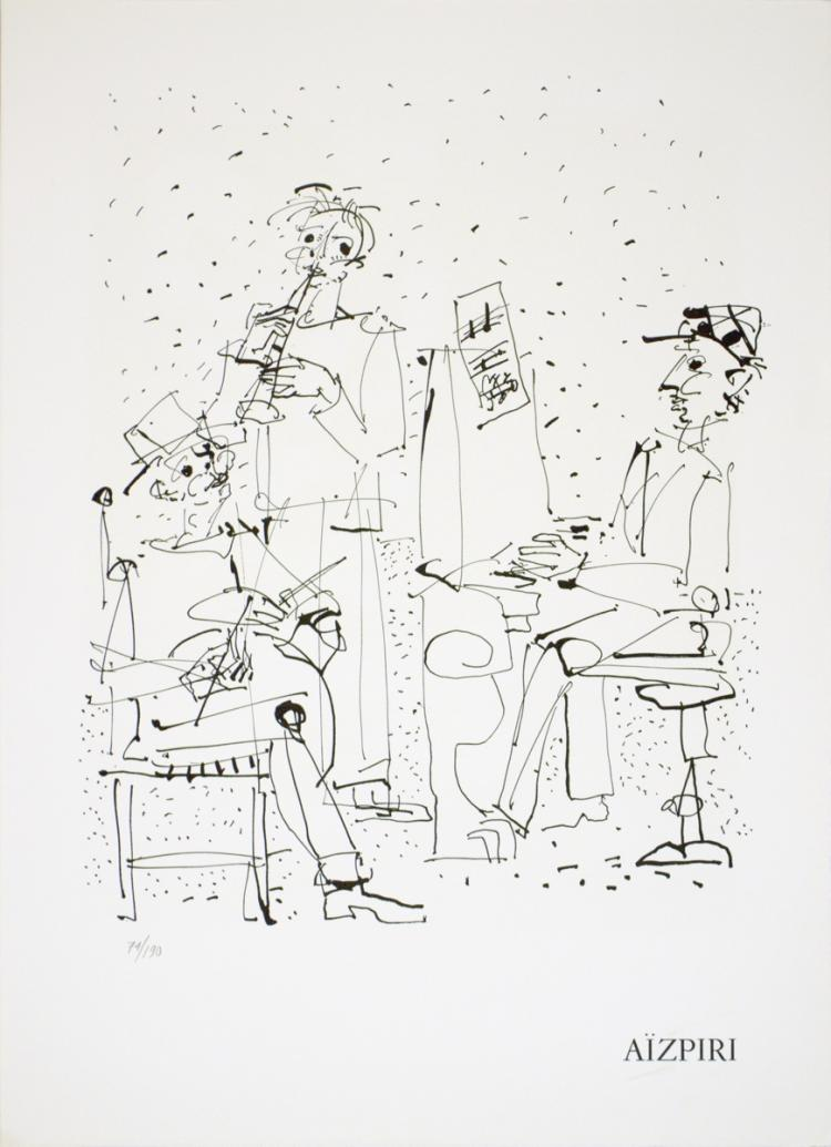 Paul Aizpiri - Les Musiciens - 1970