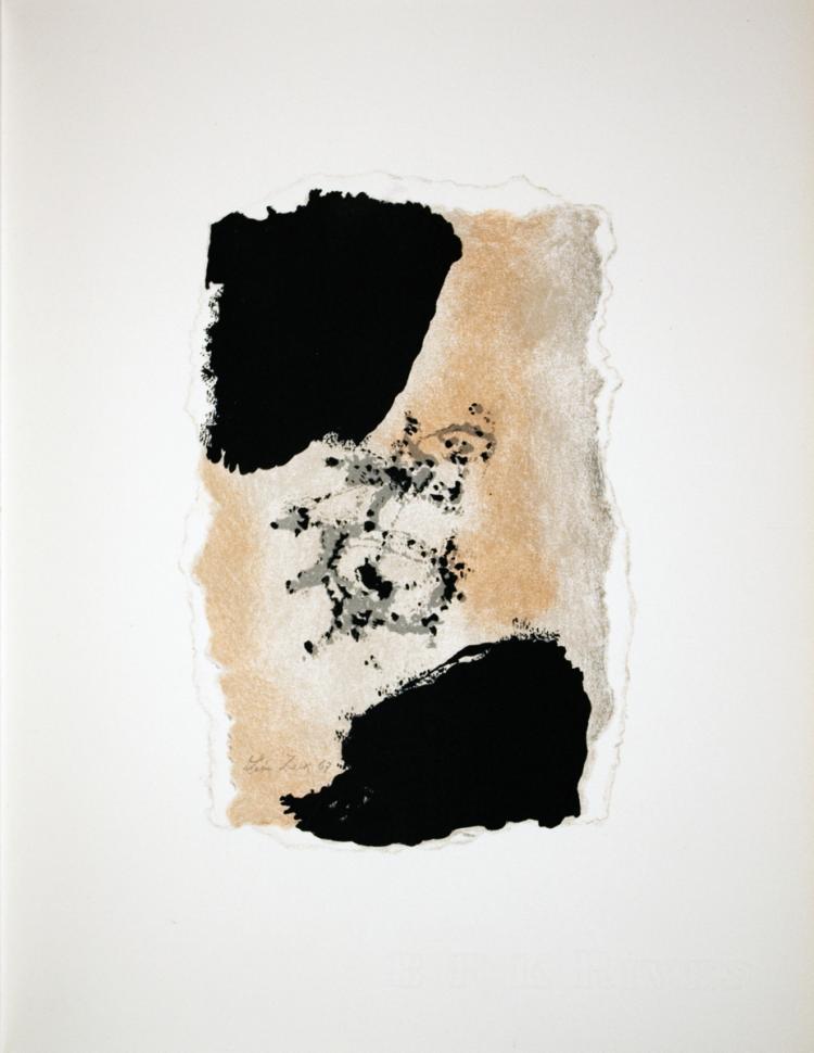 Leon Zack - Sans Titre (Untitled) - 1967