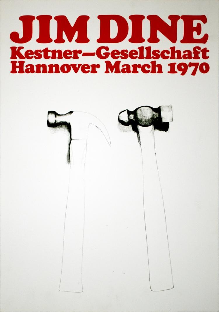 Jim Dine - Hammers - 1970