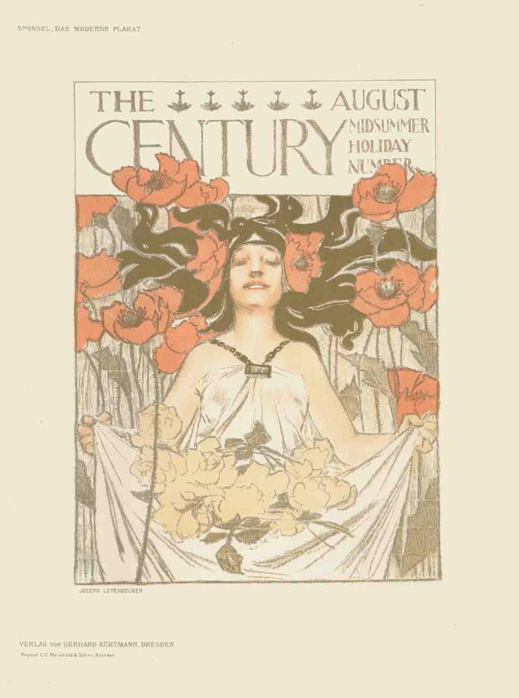 Joseph Leyendecker - The Century - 1897
