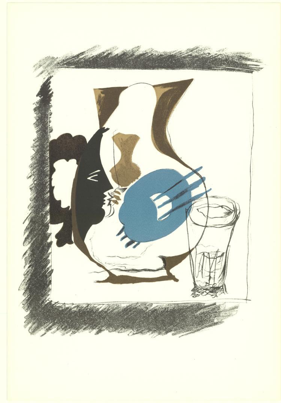 Georges Braque - Verre et Pichet
