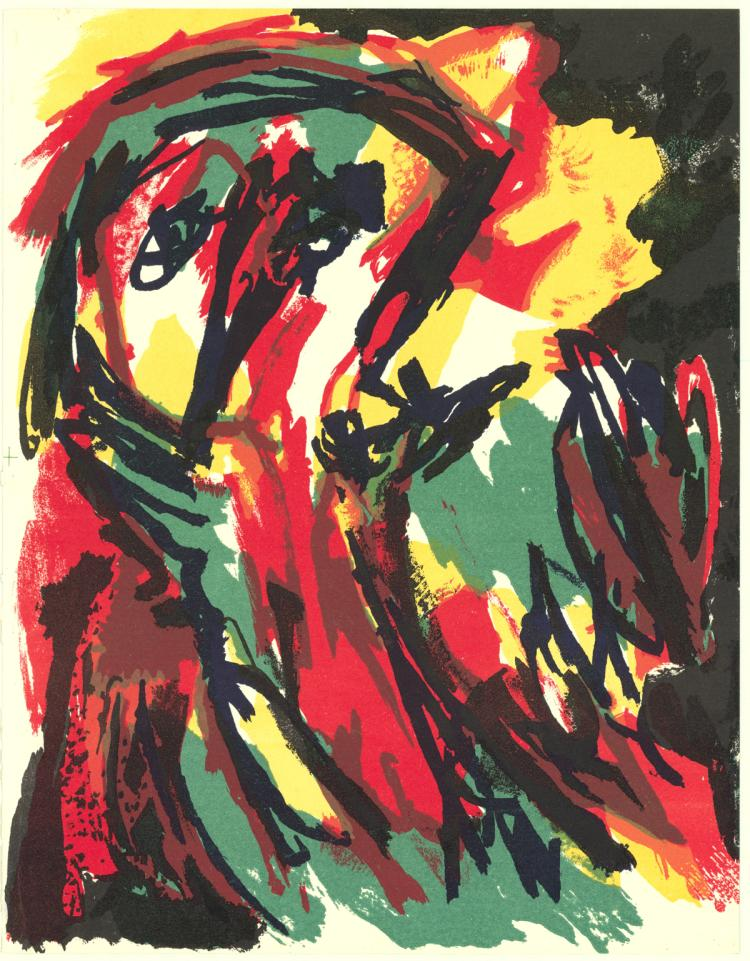 Karel Appel - Untitled - 1961