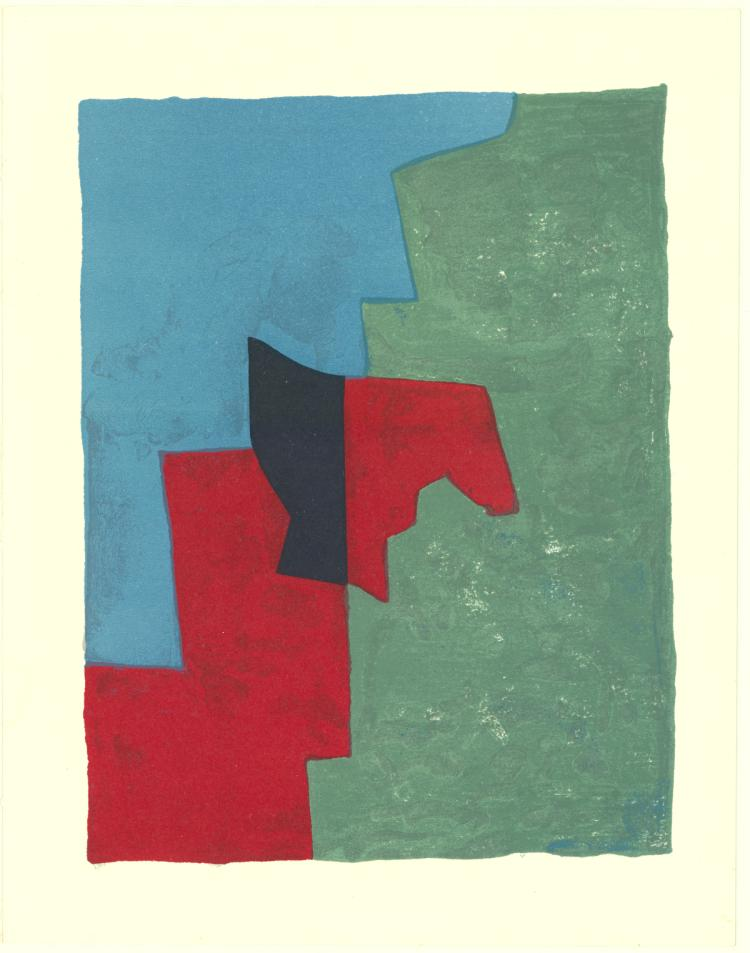 Serge Poliakoff - Untitled - 1961