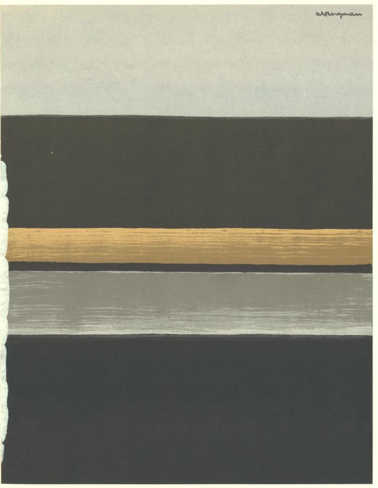 Anna Eva Bergman - XXe Siecle no. 35 - 1970