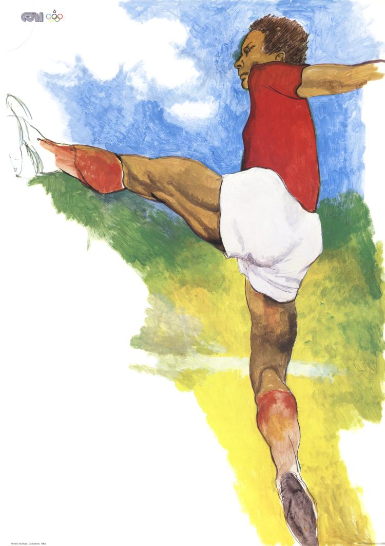 Renato Guttuso - Calciatore - 1983