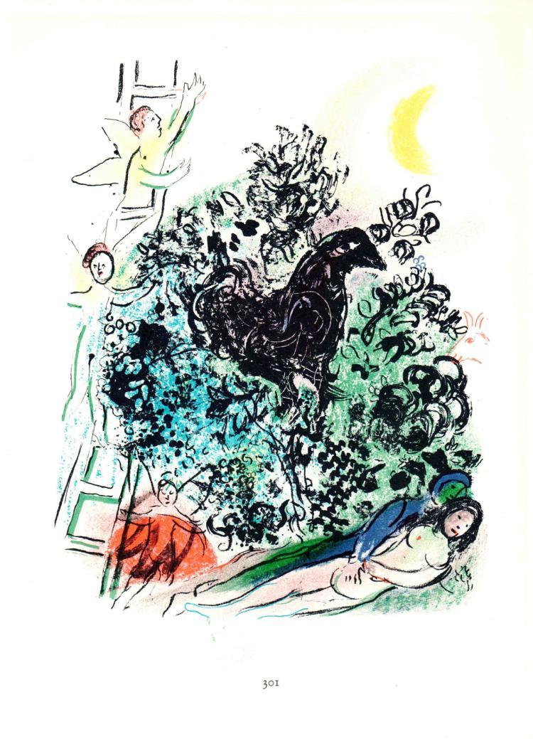 Marc Chagall - Songe d'un Amoureux - 1963