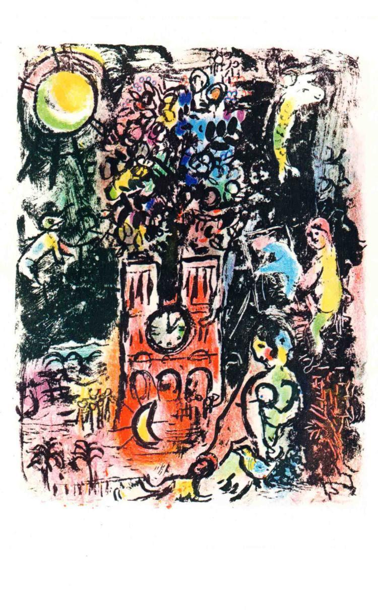Marc Chagall - L'arbre de Jesse - 1963