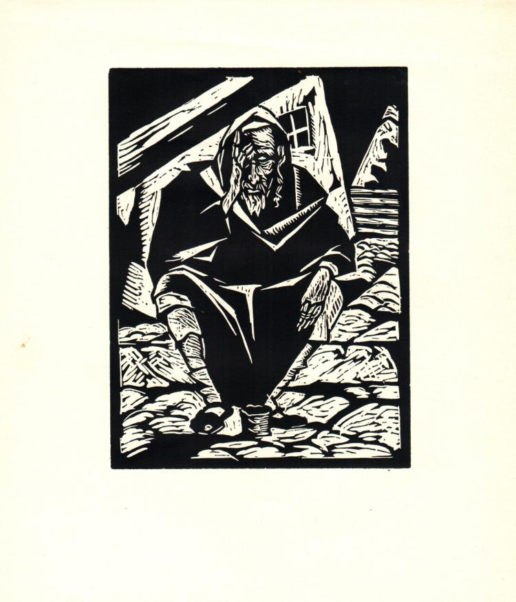 Todros Geller - Yemenite Beggar - 1929