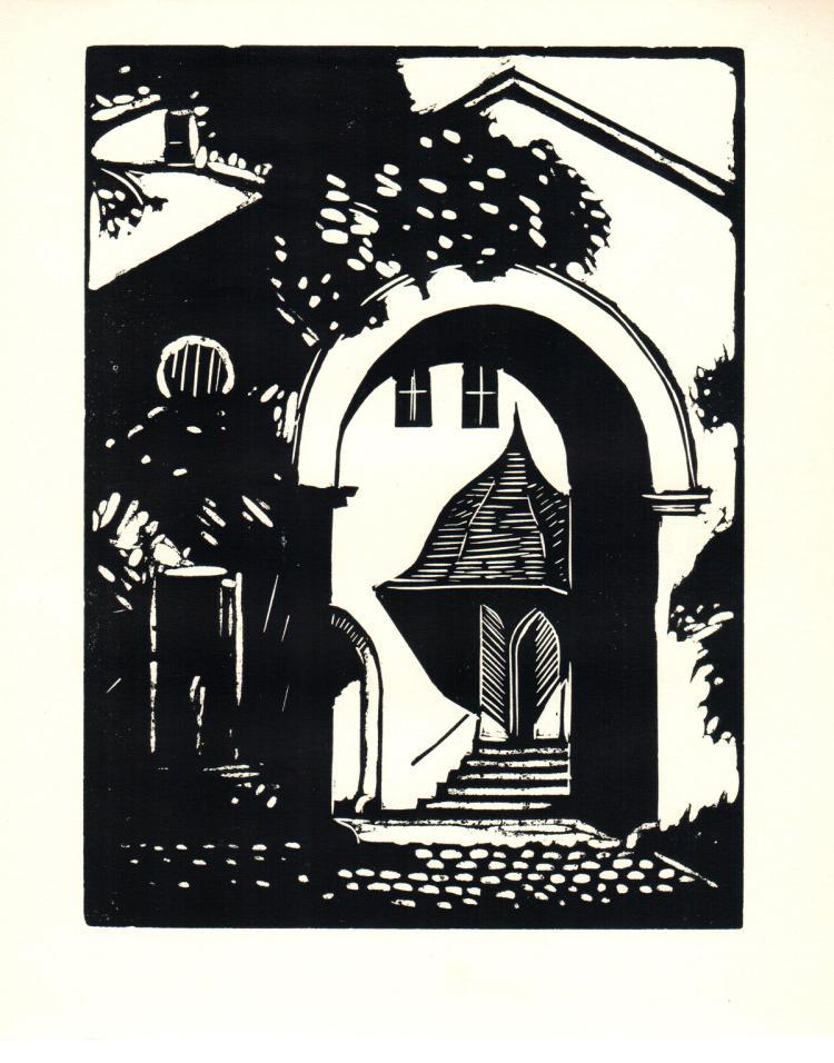 George Raab - Portal in Weimar - 1939