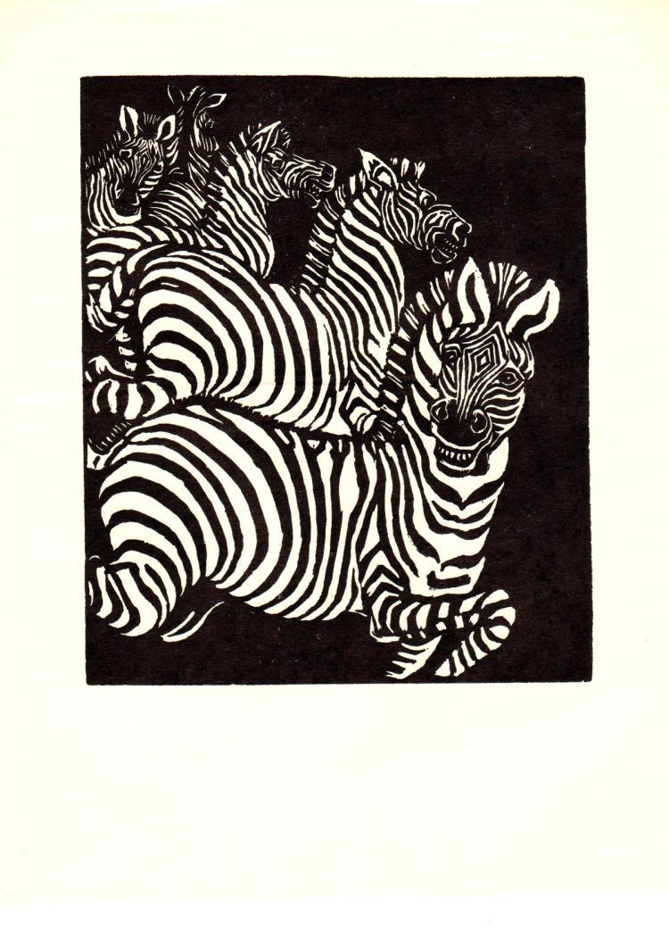 Wuanita Smith - Wild Zebras - 1938