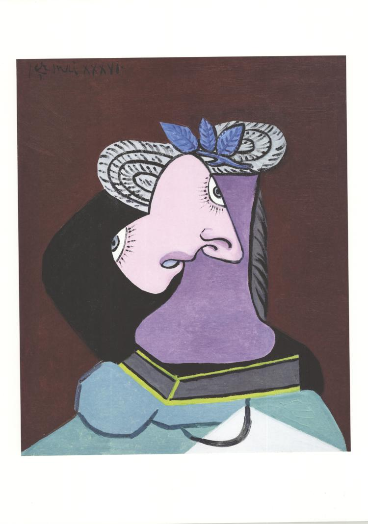 Pablo Picasso - Portrait d'une femme