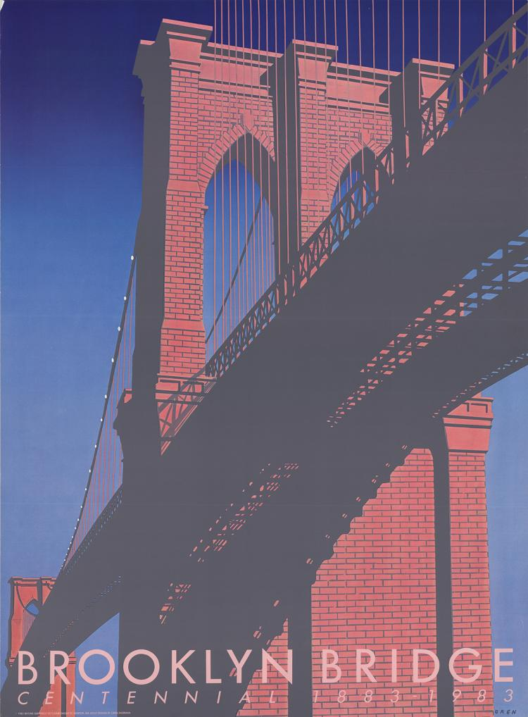 Oren Sherman - Brooklyn Bridge Centennial - 1983