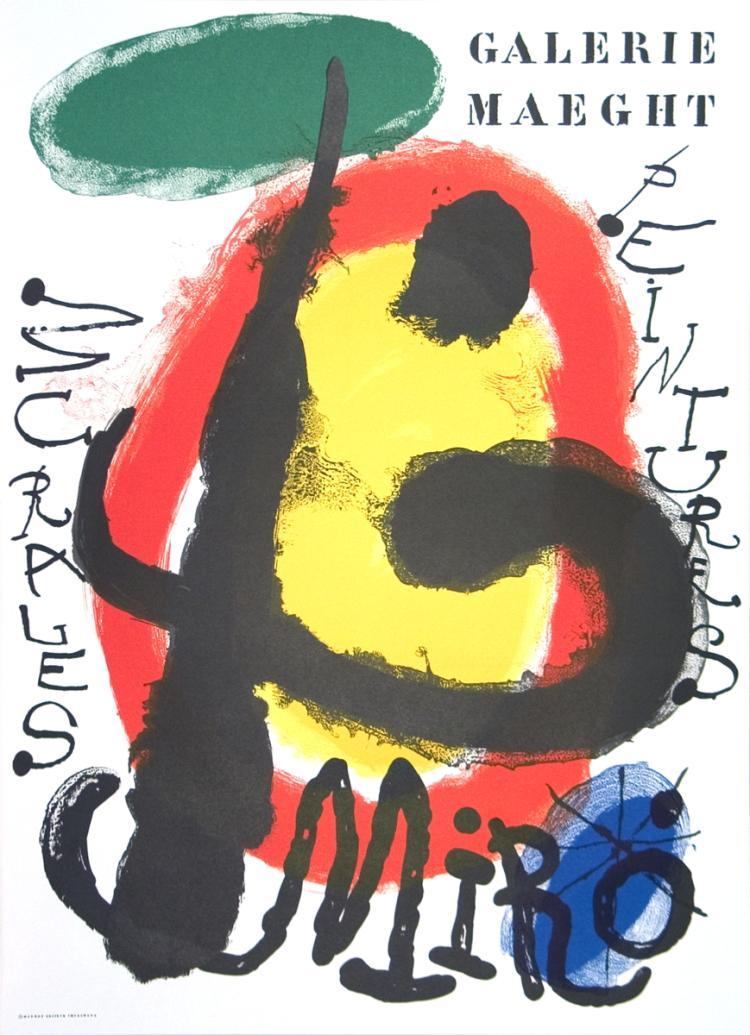 Joan Miro - Peintures Murales - 1961