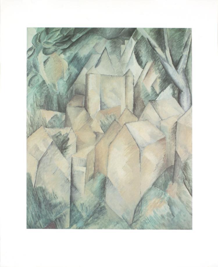 Georges Braque - La Roche Guyon - 1987