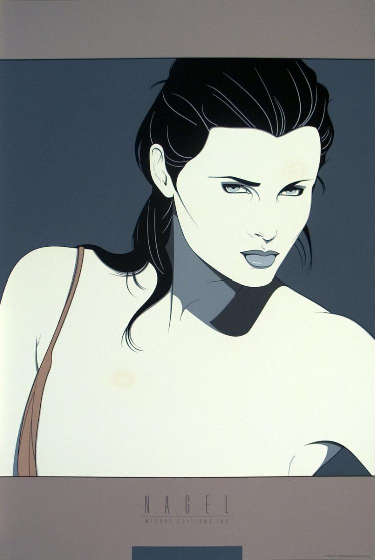Patrick Nagel - Commemorative #14 - 1986
