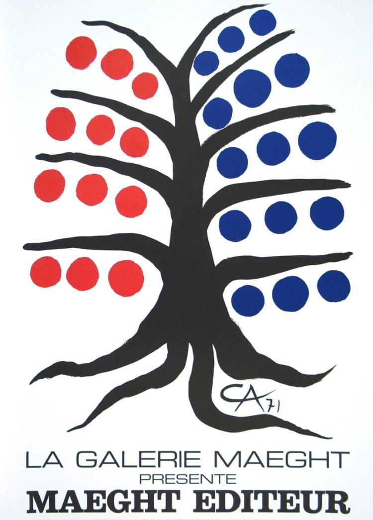 Alexander Calder - Maeght Editeur - 1971