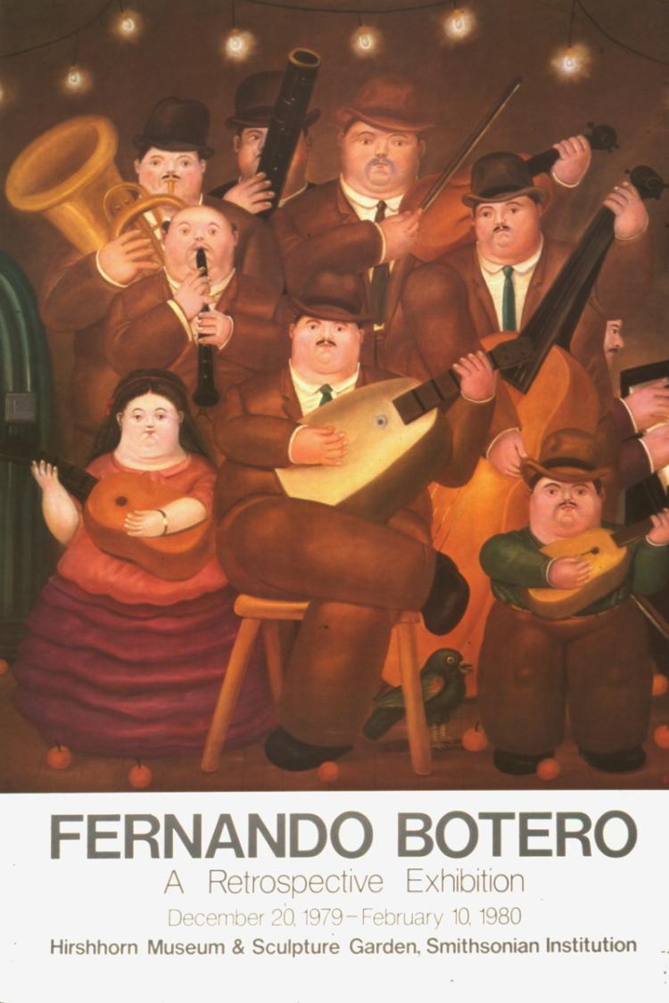 Fernando Botero - Los Musicos - 1980