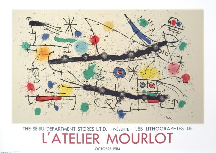 Joan Miro - Constellations-Seibu - 1984