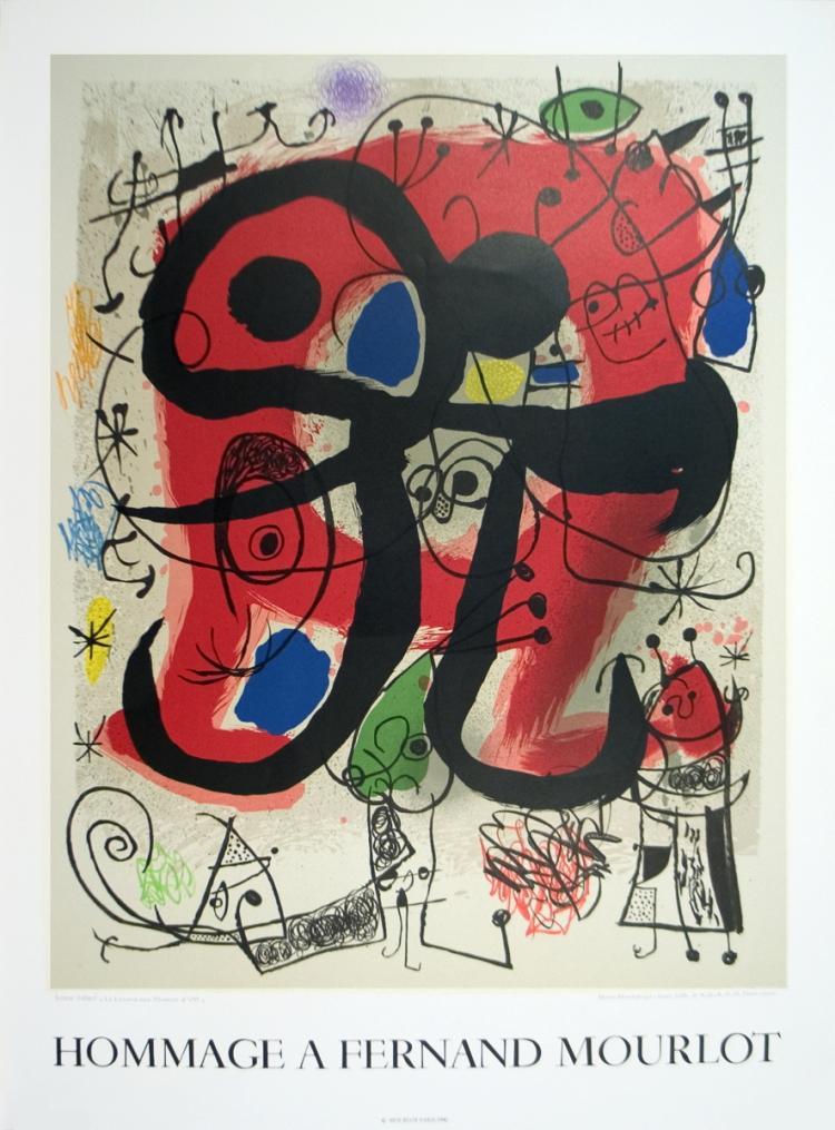 Joan Miro - Le Lezard Aux Plumes D'or - 1993