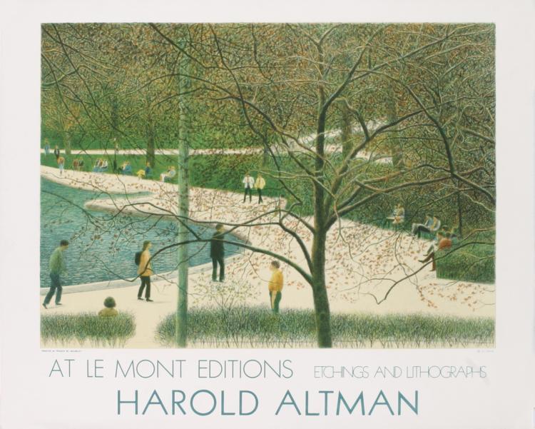 Harold Altman - Central Park New York