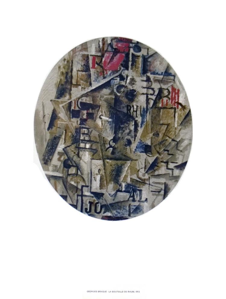 Georges Braque - La Bouteille De Rhum