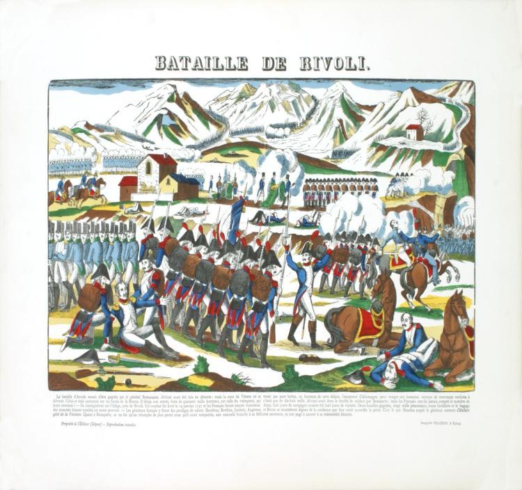 Pellerin - Napoleon-Bataille de Rivoli - 1912