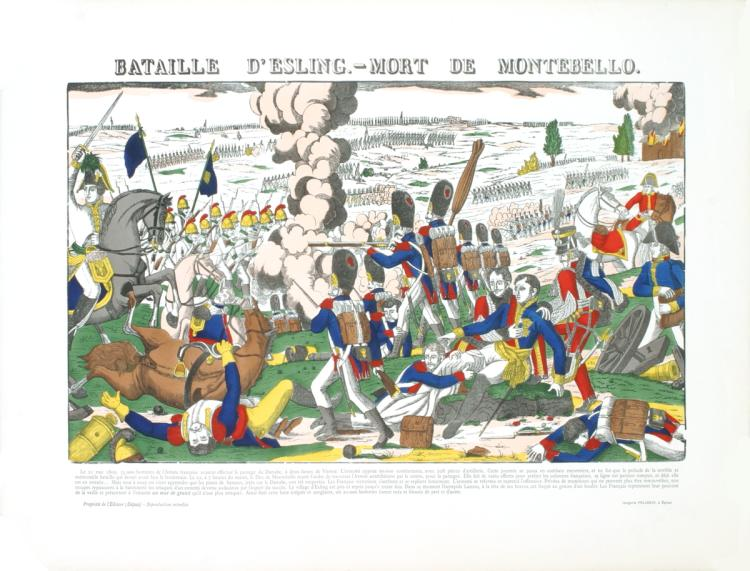 Pellerin - Bataille D'Esling- Mort De Montebello - 1912