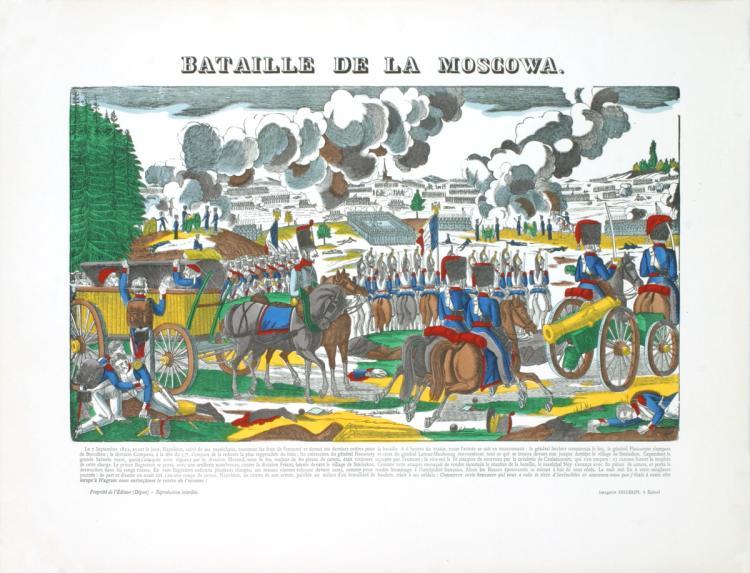 Pellerin - Bataille De La Moscawa - 1912